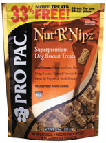 PRO PAC Nut R Nipz Dog Biscuit Treats 2lb