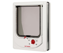 Ani Mate Cat Mate Electromagnetic Cat Flap White
