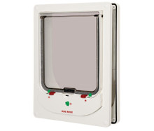 Ani Mate Dog Mate Electromagnetic Dog Door White