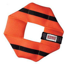 KONG Fire Hose Ballistic Square Toy for Dogs, Medium