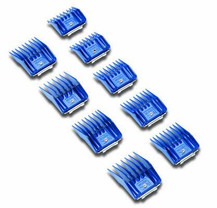Andis High Quality Plastic Universal Snap-On Pet Clipper Comb Set