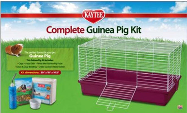 Kaytee My First Home and Fiesta Complete Starter Kit for Guinea Pigs