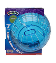 Super Pet Run-About Ball Dazzle 7in Diameter
