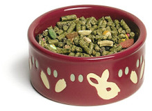 Super Pet Paw-Print Petware Bunny Bowl