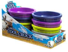 Super Pet Cool Crock, Assorted Colors, Large, 8 Pack Display