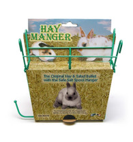Super Pet Hay Manger W  Salt Hanger