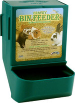 Super Pet Gravity Bin Feeder W  Bracket Assorted