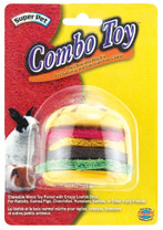 Super Pet Combo Toy Crispy And Wood Hamburger