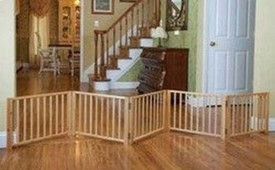 5 Panel Free Standing Walk Over Gate