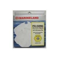 Marineland Polishing Filter Pads Fits C-530 Canister Filter Size-Rite X 2pk