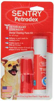 Sentry Petrodex VS Dental Cleaning Paste Kit for Dogs