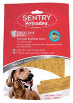 Sentry 24 Count Petrodex VS Dental Polishing Strips for Small Dogs