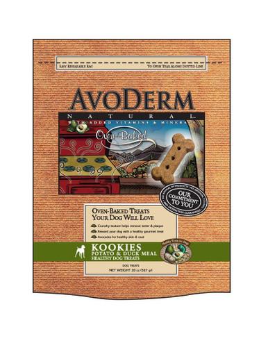 Breeder's Choice AvoDerm Oven-Baked Potato & Duck Meal Kookies 20oz