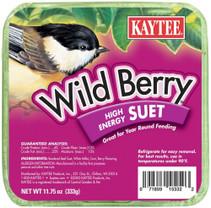 Kaytee Wild Berry Suet 11.75oz