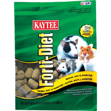 Kaytee Forti-Diet Mouse Rat 2lb