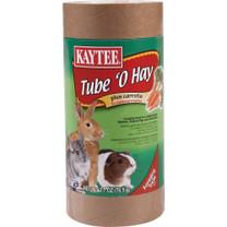 Kaytee Tube O Hay Plus Carrots Medium 4oz
