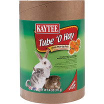 Kaytee Tube O Hay Plus Marigolds Large 4oz
