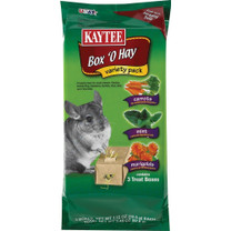 Kaytee Box O Hay Variety Pack-Carrot Mint Marigolds