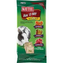 Kaytee Box O Hay Variety Pack-Marigold Mango Cranberries