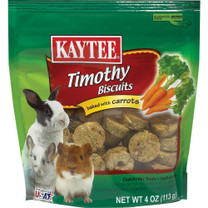 Kaytee Timothy Biscuits Baked With Carrots 4oz