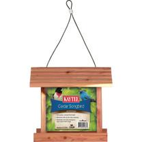 Kaytee Cedar Songbird Wild Bird Feeder