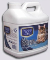 Premium Choice Carefree Kitty Unscented All Natural Scoop Litter 3 16lb