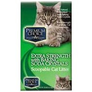 Premium Choice Carefree Kitty Unscented w  Baking Soda Scoop Litter 25lb