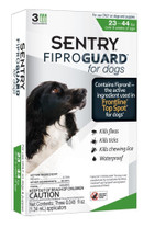 SENTRY FiproGuard Dog Flea & Tick Squeeze-On 23-44lb 3ct