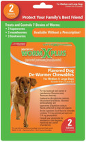 SENTRY HC WormX Plus Large Dog 2ct