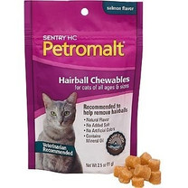 SENTRY HC Petromalt Hairball Chewables Salmon Flavor 2.5oz