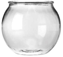 Anchor Hocking Glass Round Fish Bowl .5gal