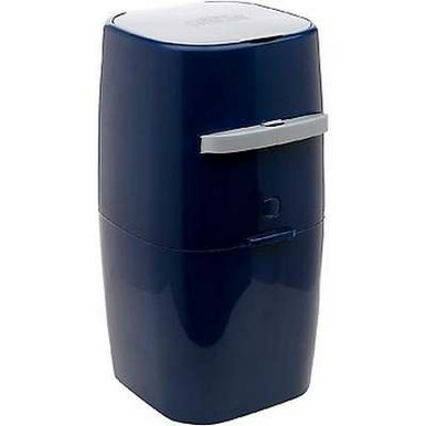"Litter Genie Plus Cat Litter Disposal System in Blue, 8"" L X 8"" W X 17"" H"