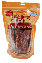Smokehouse Chicken Breast Strips 8oz reseal bag