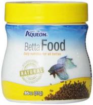 Aqueon 06051 Betta Food, 0.95-Ounce