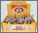 Smokehouse Bully Sticks Shelf Display Box 12in 60ct