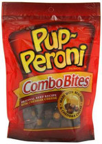 Pup-Peroni ComboBites Original Beef Recipe with Cheddar Cheese Dog Snacks, 5.6 Ounce