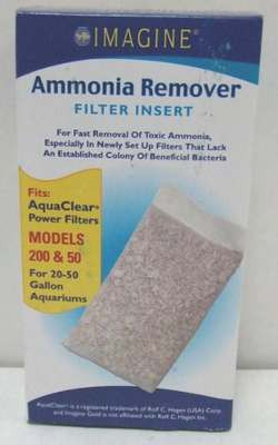 Imagine Gold Ammonia Remover Filter Insert for AquaClear 50/200