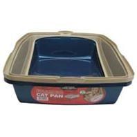 Van Ness Framed Cat Pan Large