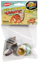 Zoo Med Hermit Crab Growth Shell Medium 2pk