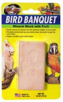 Zoo Med Bird Banquet Block Fruit Formula Large