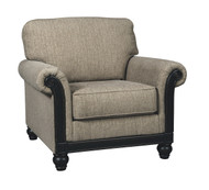 Ashley Blackwood Taupe Chair