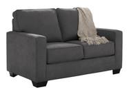Ashley Zeb Charcoal Twin Sofa Sleeper