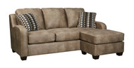 Ashley Alturo Dune Sofa Chaise /Couch