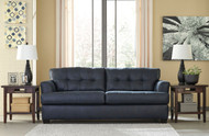 Ashley Inmon Navy Sofa/Couch