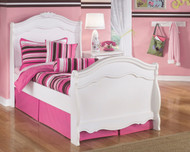 Ashley Exquisite Twin Bed