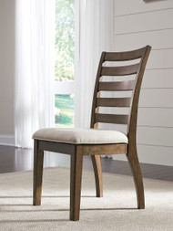 Ashley Flynnter Medium Brown Dining Upholstered Side Chair