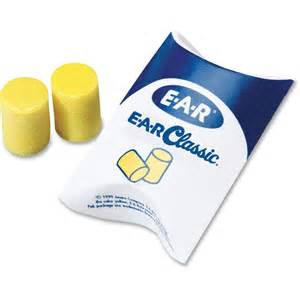 Ear classic pillow pack with no cord. 200 per box.