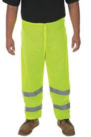 Mesh Pants, Class E, Lime with Elastic Waist and Ankles.  Size 3X/4X