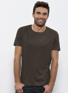 Round Neck Modal/Organic Cotton Blend Tee
