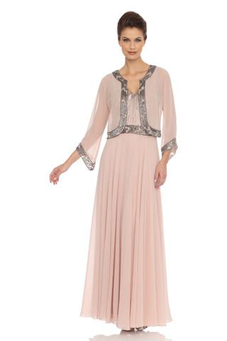 Embellished Dress with Jacket